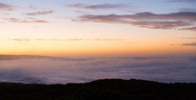 Sonnenaufgang über der AHanson Bay in Südaustralien.