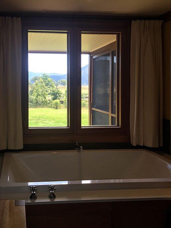 Badewanne One & Only Wolgan Valley