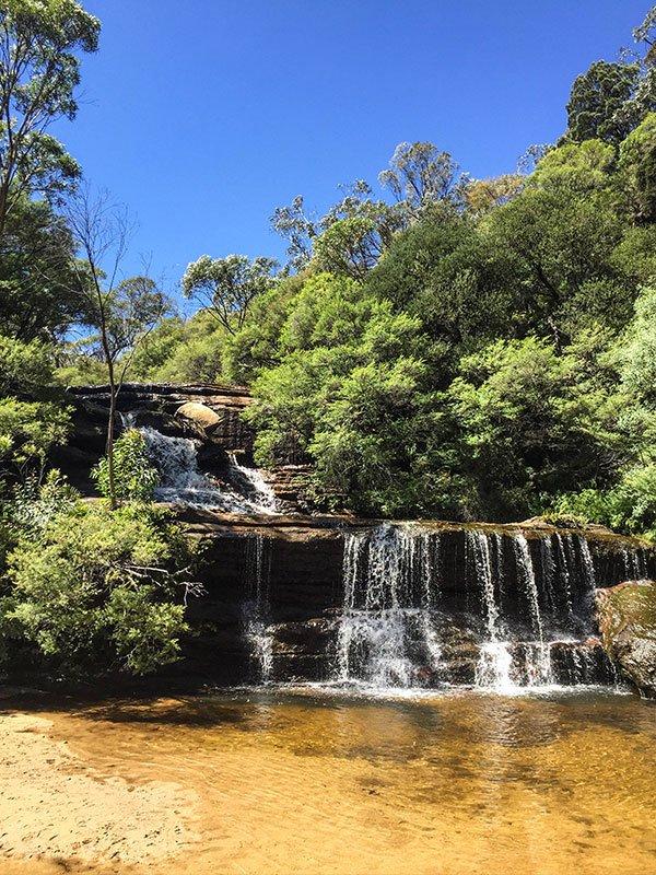 Wasserfall National Pass Australien