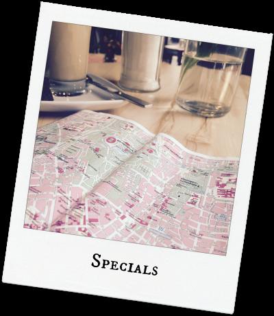 Specials im Reiseblog