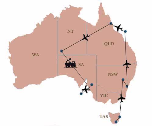 Luxusreise durch Australien Überblick