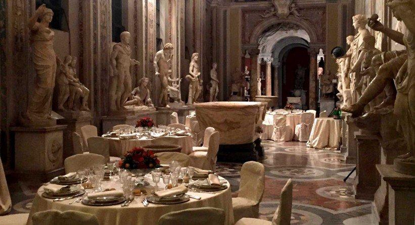 Vatikanmuseum Tische Porsche Dinner