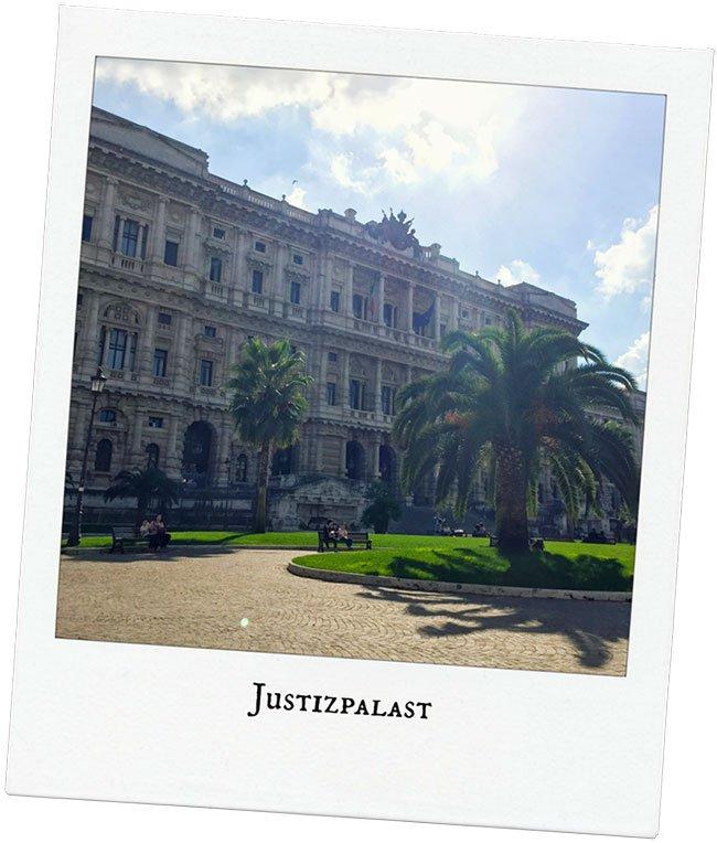 Justizpalast Rom mit dem Porsche Travel Club