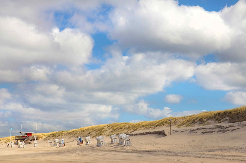 Strand von Kampen