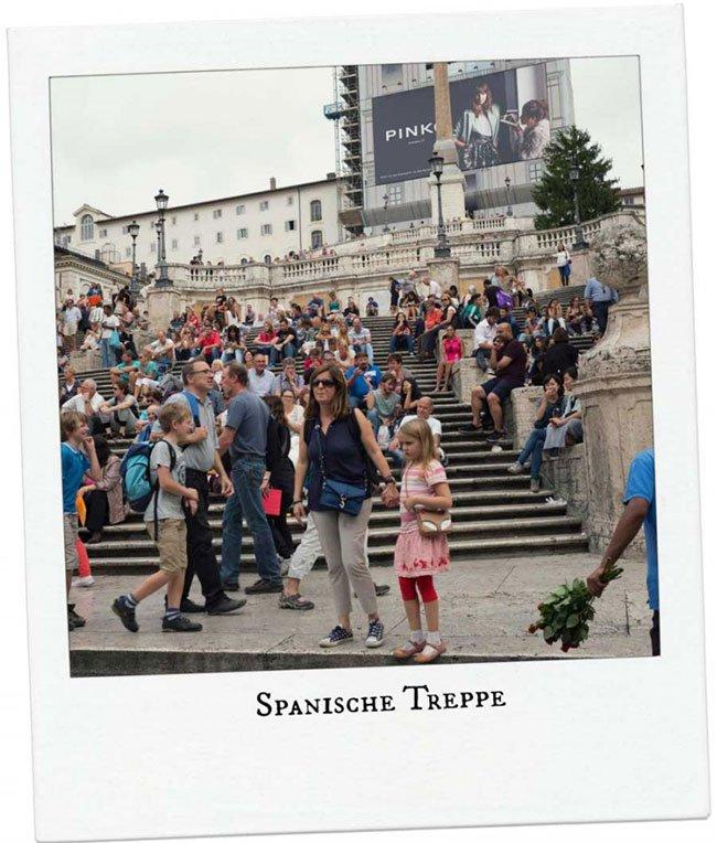 Spanische Treppe Rom mit dem Porsche Travel Club