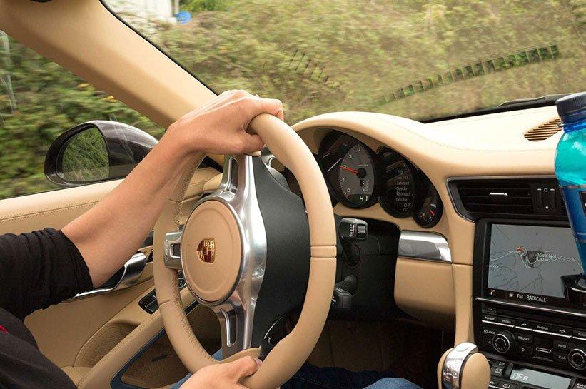 Porsche Lenkrad Targa