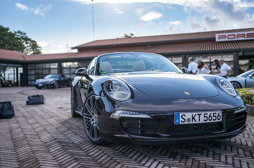 Targa Porsche Rom