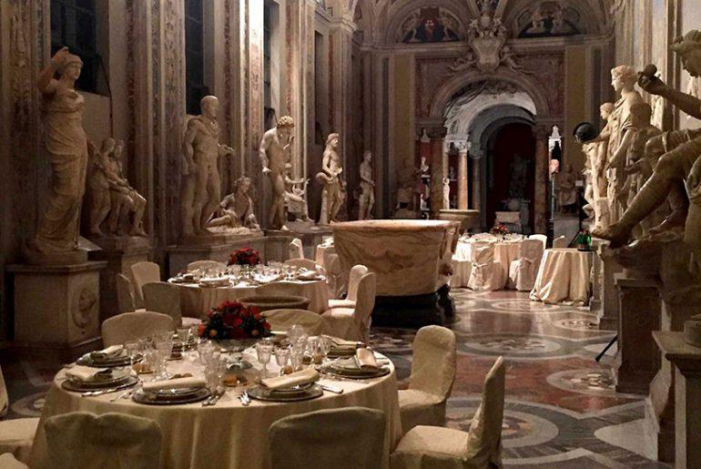 Vatikan Dinner Porsche