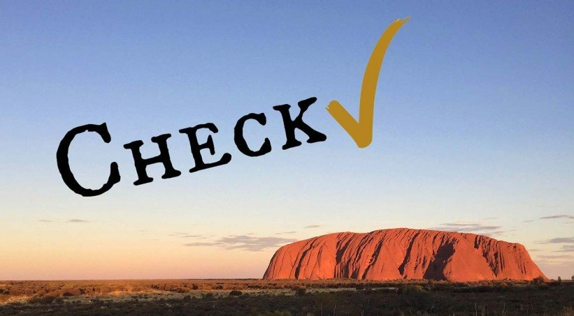 Checkliste Australien