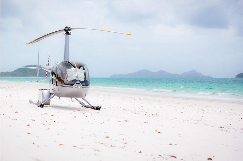 Packliste Australien auch für Hubschrauberflug