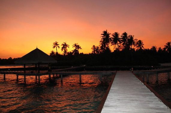 Malediven Sechs Sterne Resort