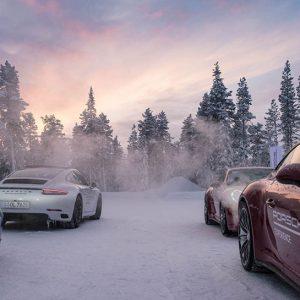 Porsche Camp 4 in Finland