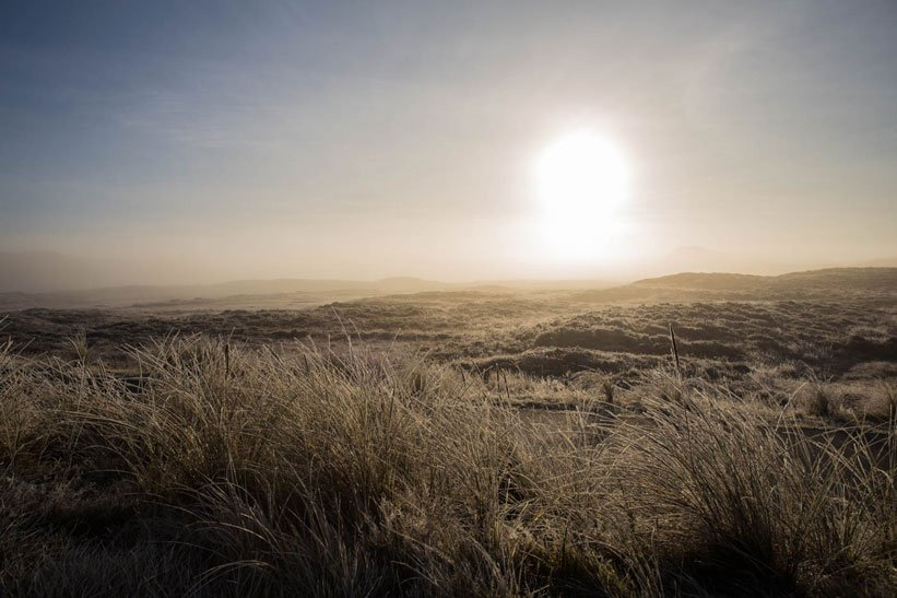 Landschaft Sylt Silvester