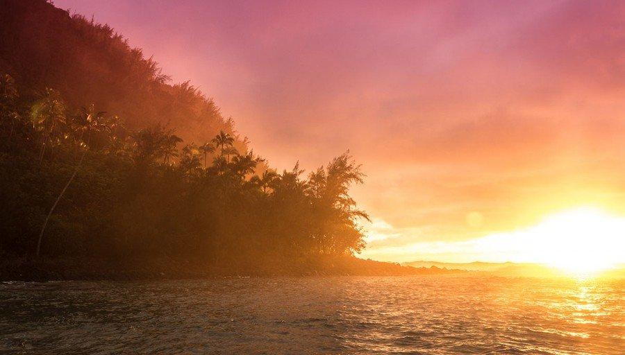 Kauai Sonnenuntergang