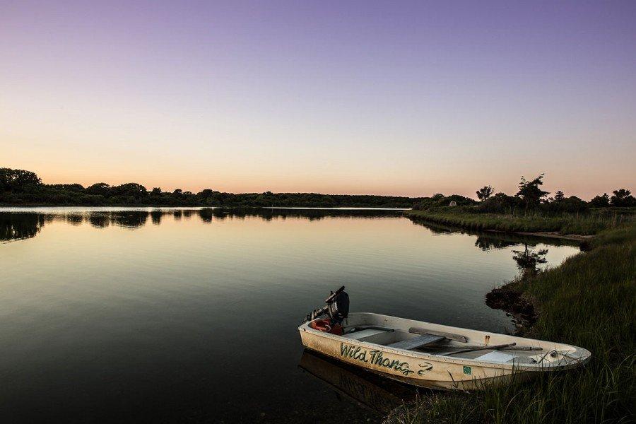 Martha's Vineyard Boot auf See