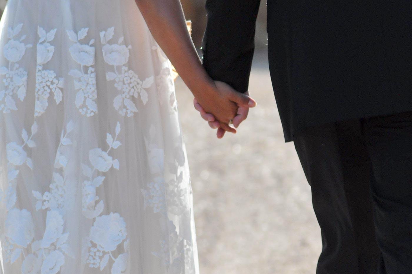 Brautkleid Mallorca Hochzeit