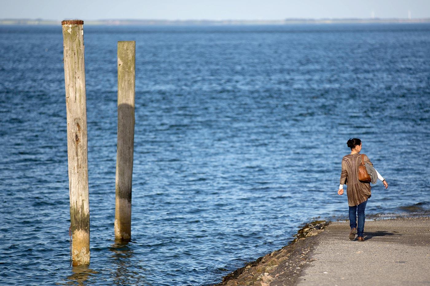 Lister Hafen Blick auf Dänemark