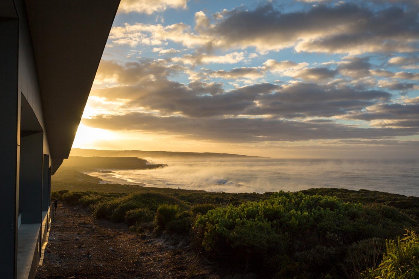 Sonnenaufgang über der Hanson Bay