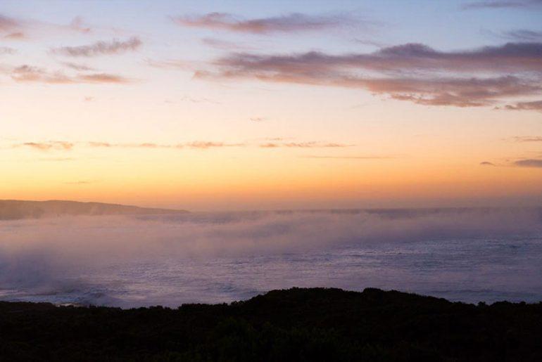 Sonnenaufgang über der Hanson Bay in Südaustralien Kangaroo Island