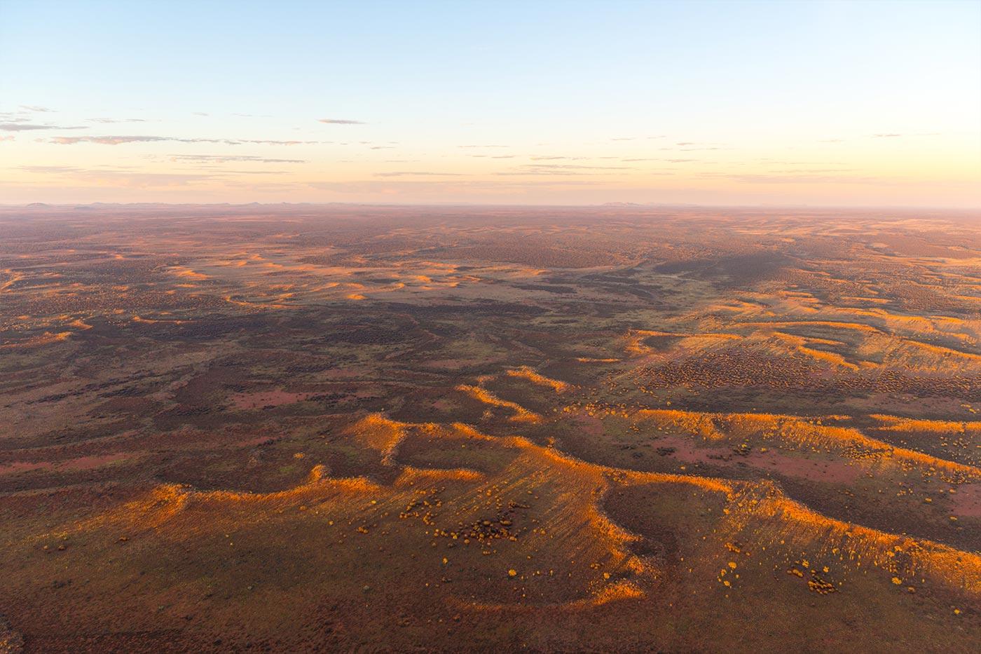 Das Outback von oben.