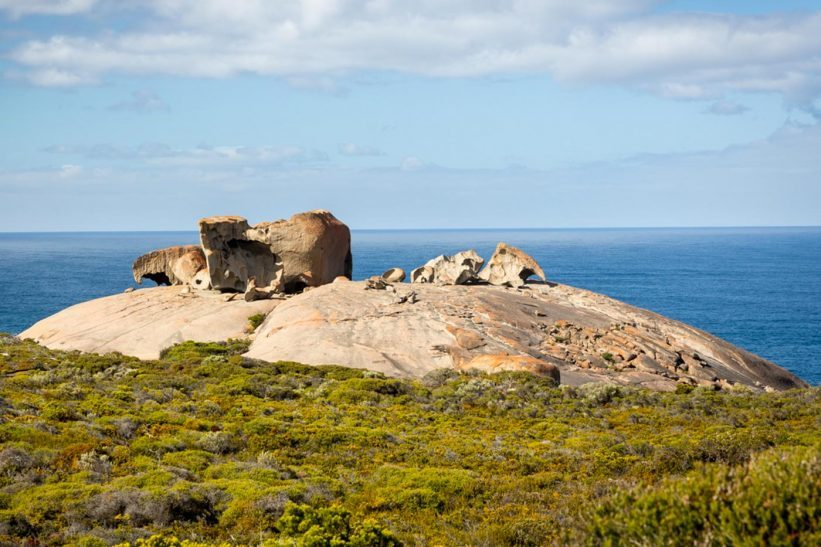 Remarkable Rocks auf Kangaroo Island