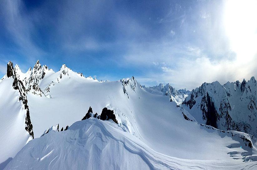 Heliskiing Alaska