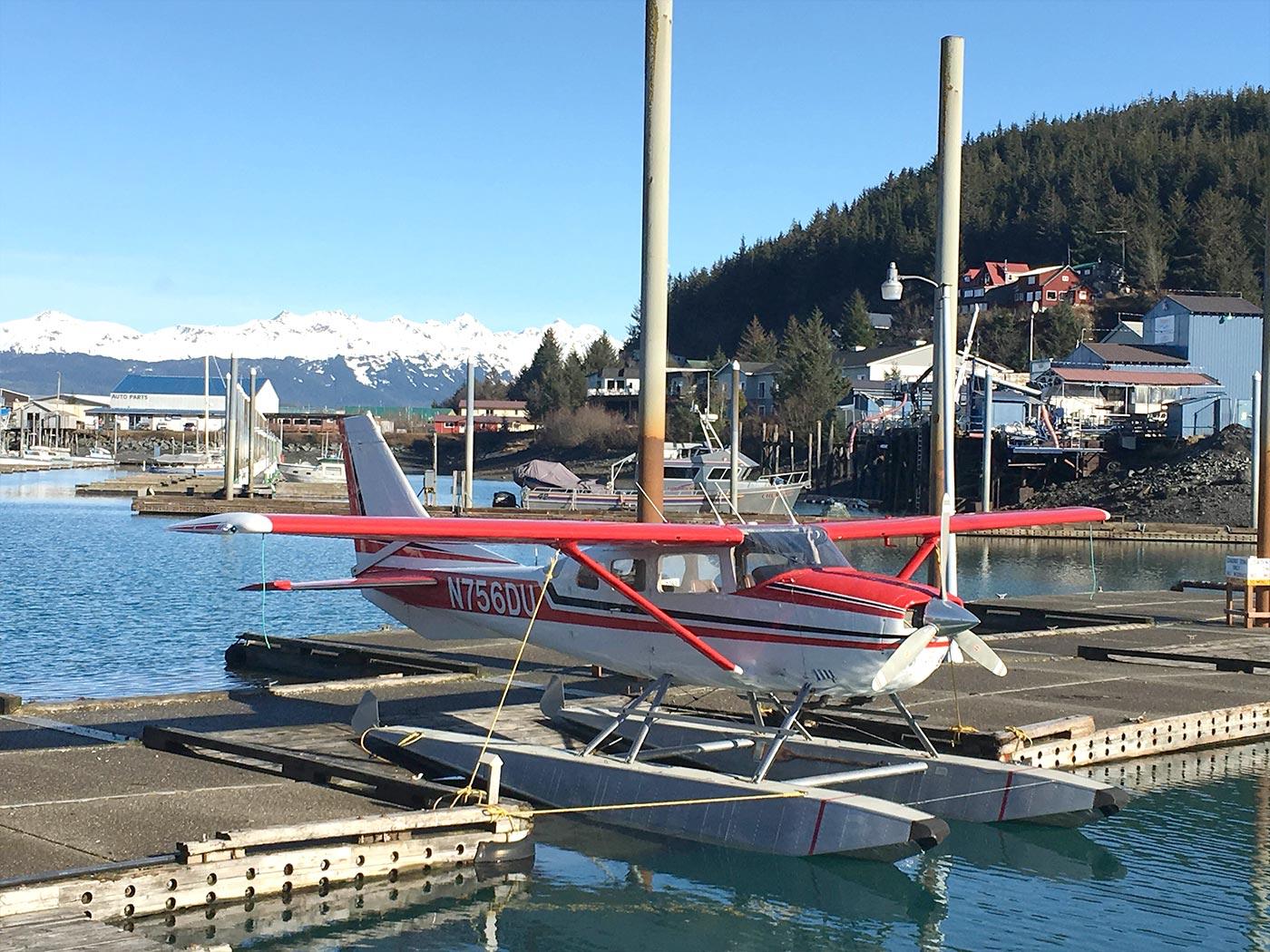 Wasserflugzeug Alaska