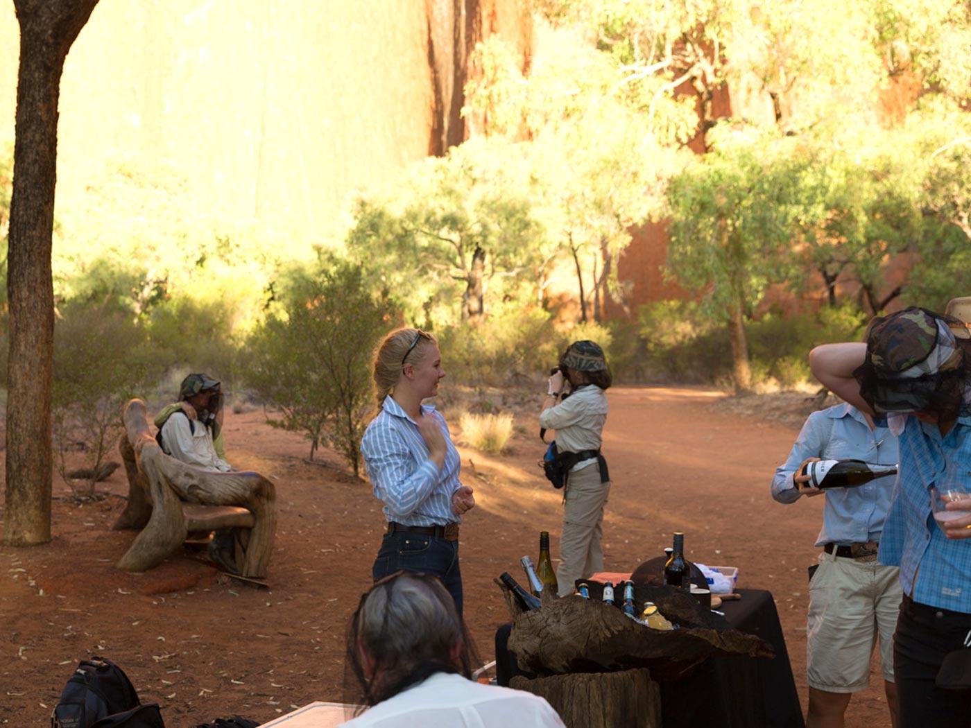 Ausflug zum Uluru mit Catering