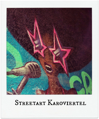 Streetart im Karoviertel