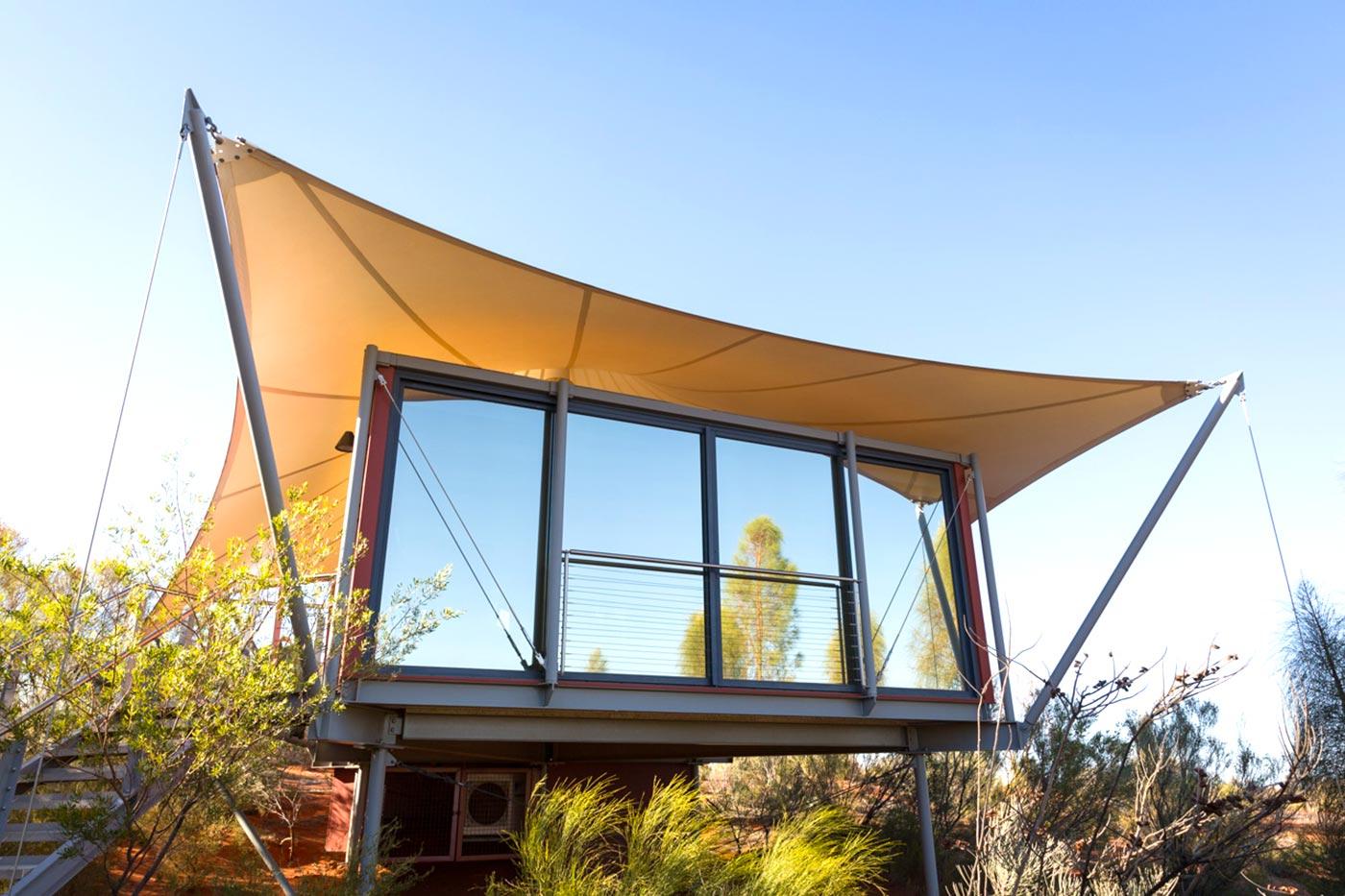 Luxus Zelt im Outback