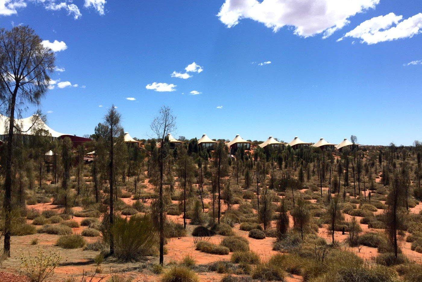 Zelte Luxus Lodge in Australien