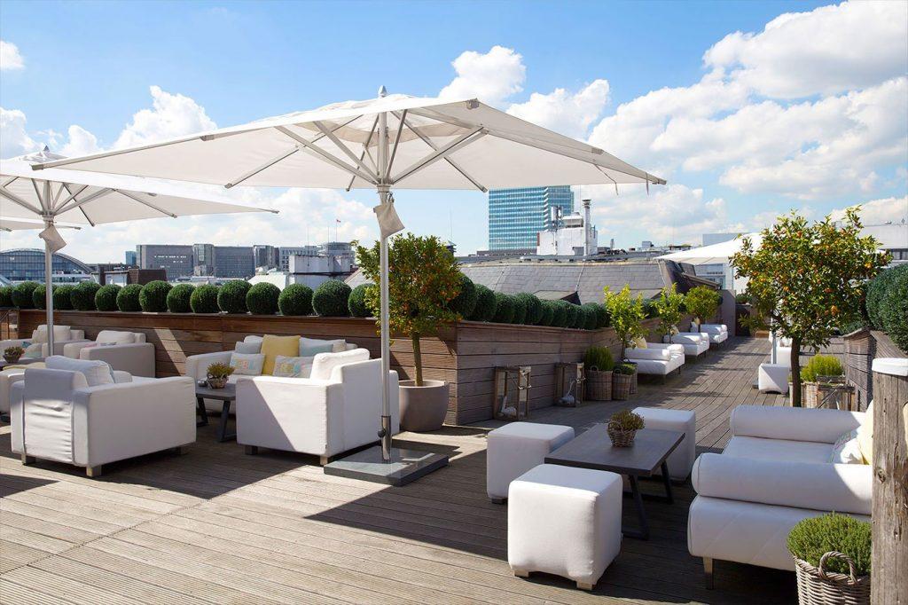 Dachterrasse Luxushotel