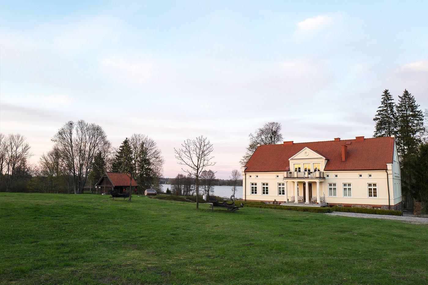 Gut Allmoyen Haus am See