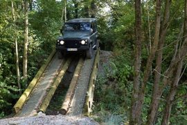 Off Road Training Land Rover