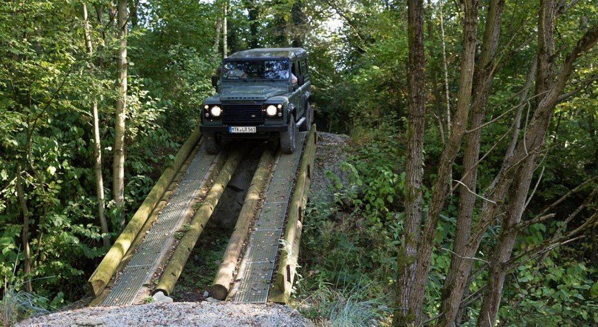 Off Road Training with Land Rover