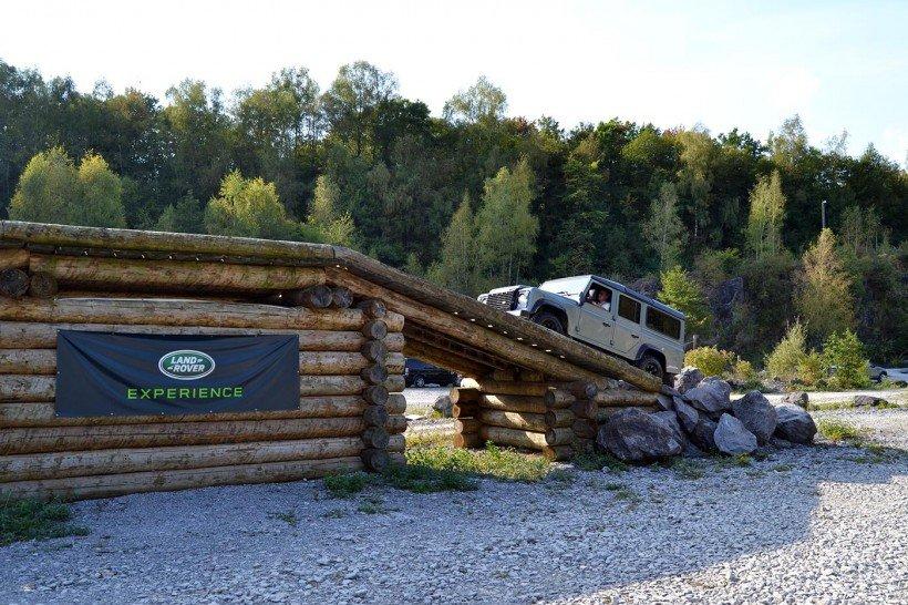 Land Rover Brücke