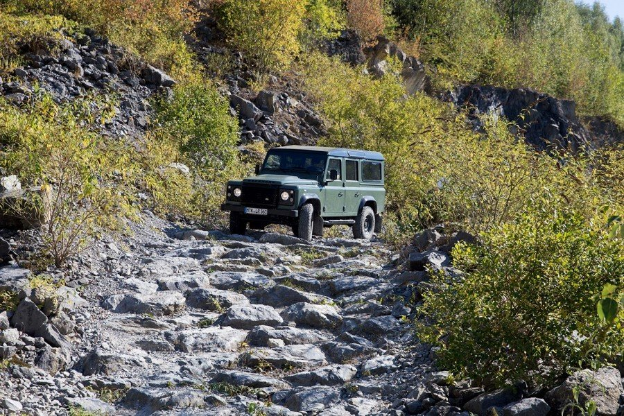 Off Road Training Defender