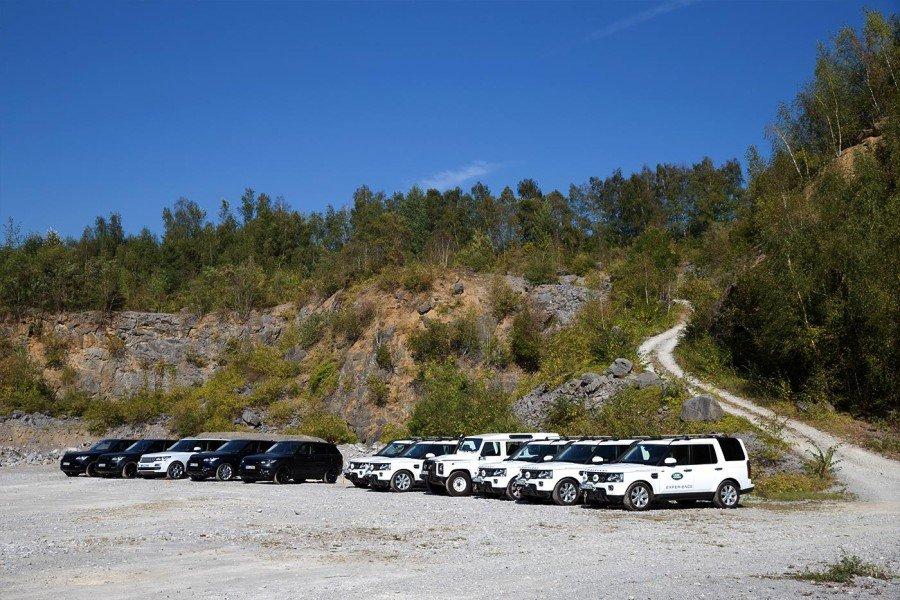 Land Rover Flotte