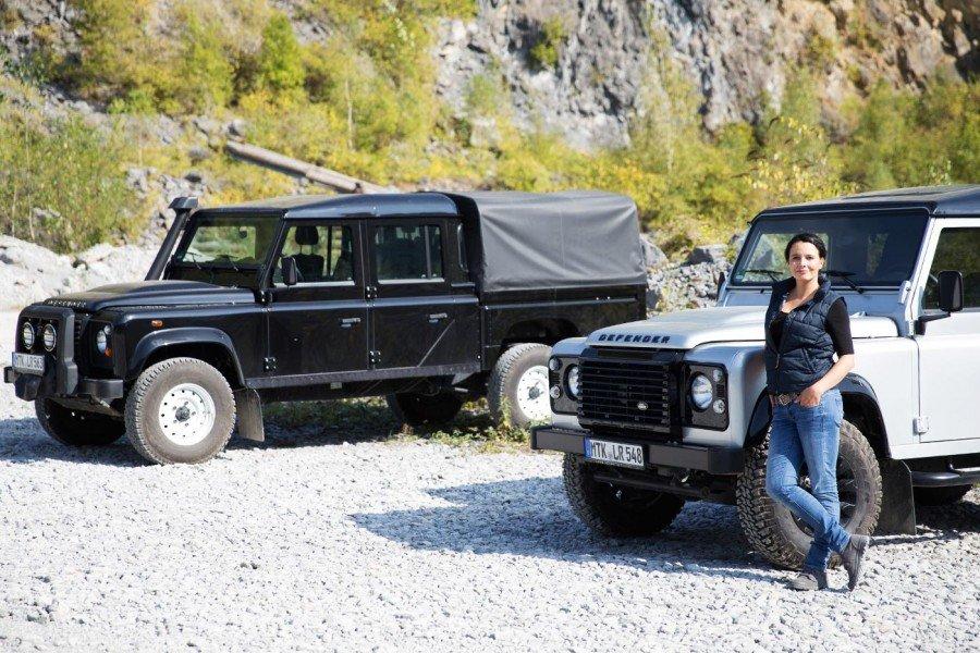 Land Rover und ich