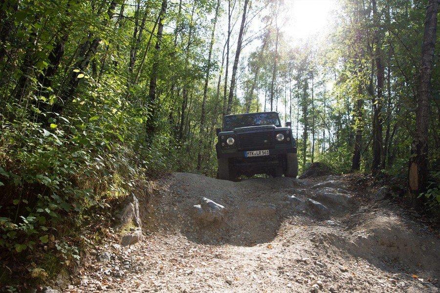 Land Rover Bergziege