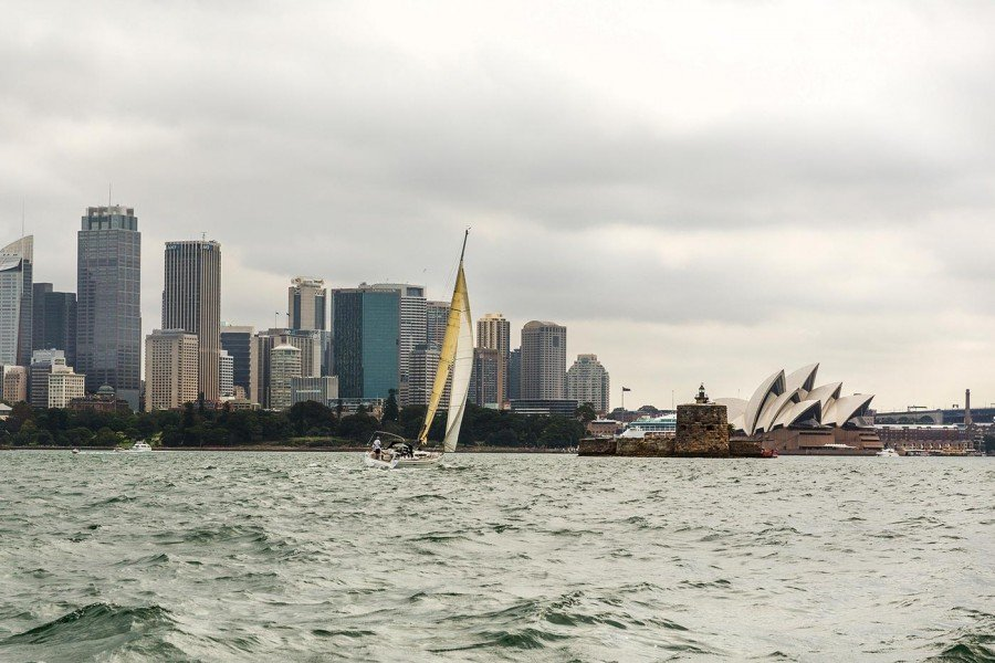Segelboot Sydney