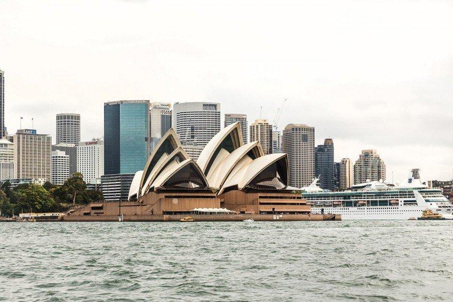 Sydney Oper von vorne