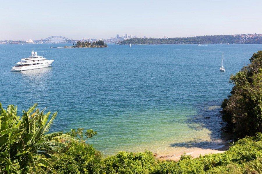 Strand vor der Tür Sydney