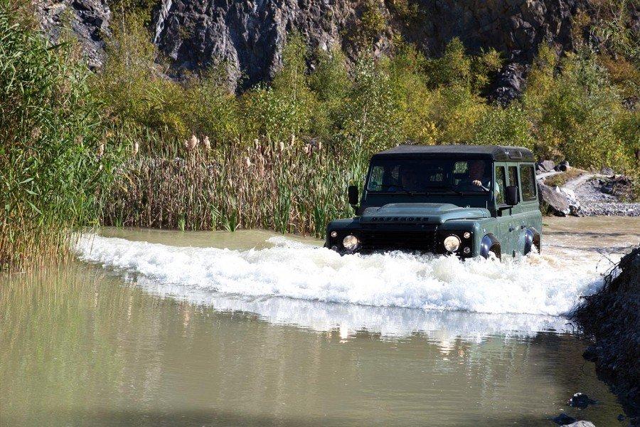 Wassertiefe Defender