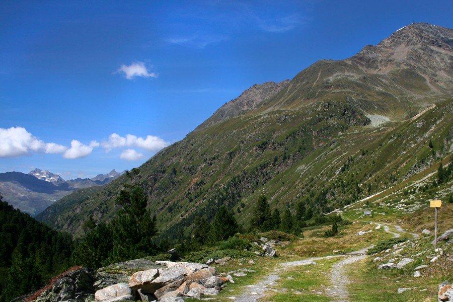 Bergsteigen und Wandern Zuckerhütl