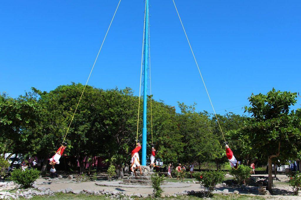 Danza del volador Vier WInde