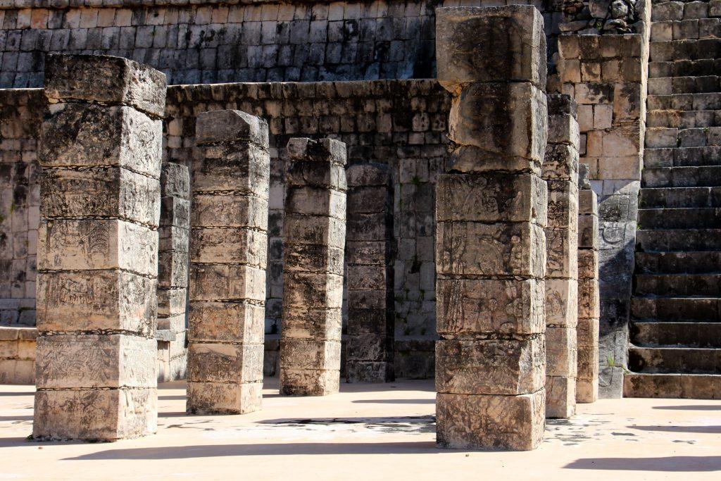 Säulen Mexiko