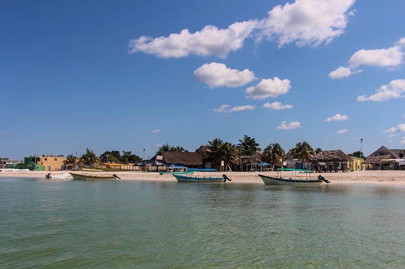 Ausflugsboote Reisebericht über Yucatan