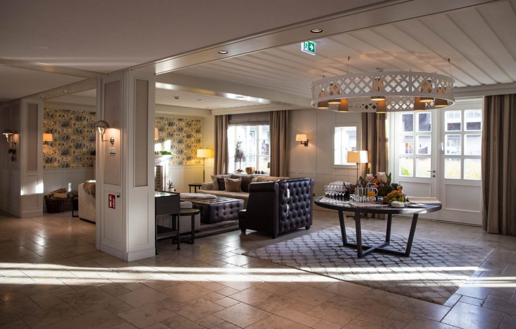Empfang Severins Spa & Resort Sylt