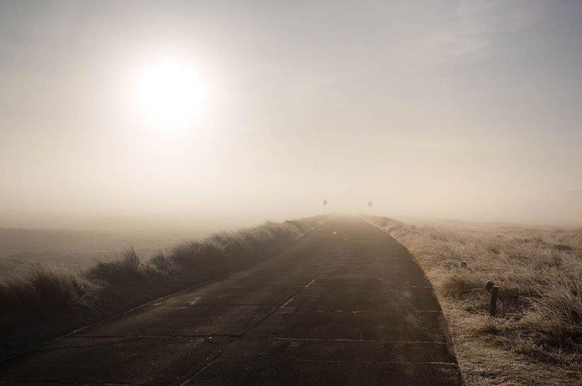 Nebel auf Sylt im November